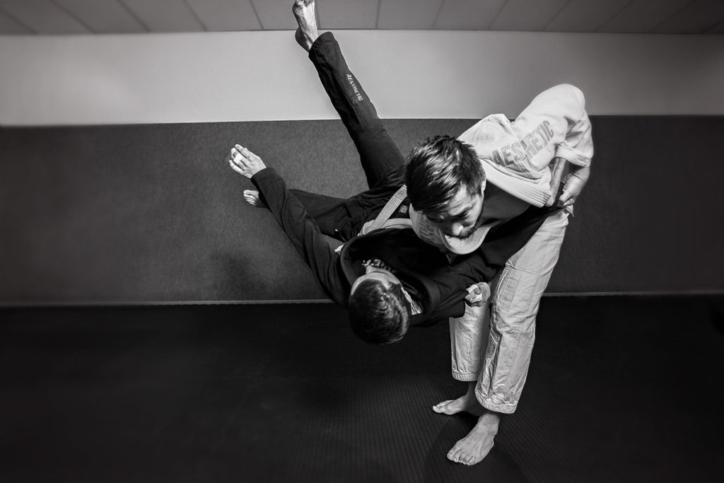 Judo Hüftwurf