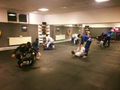 Die erste Trainingseinheit